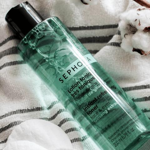La lotion tonique Sephora, idéale pour une peau parfaitement nettoyée
