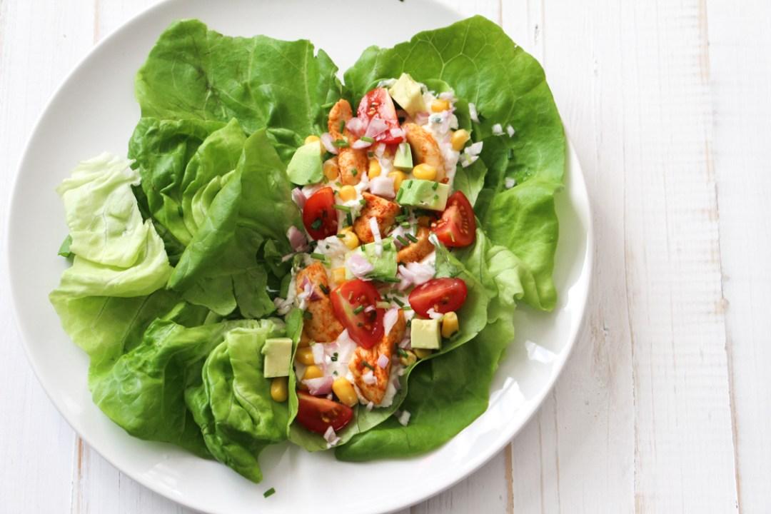 wrap-salade