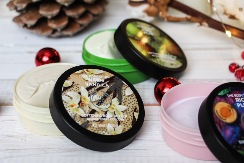 beurres corporels the body shop coffret