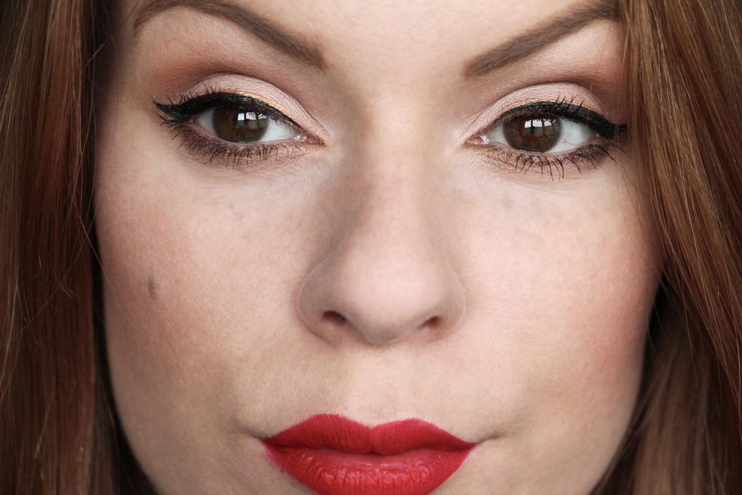trait eyeliner dore