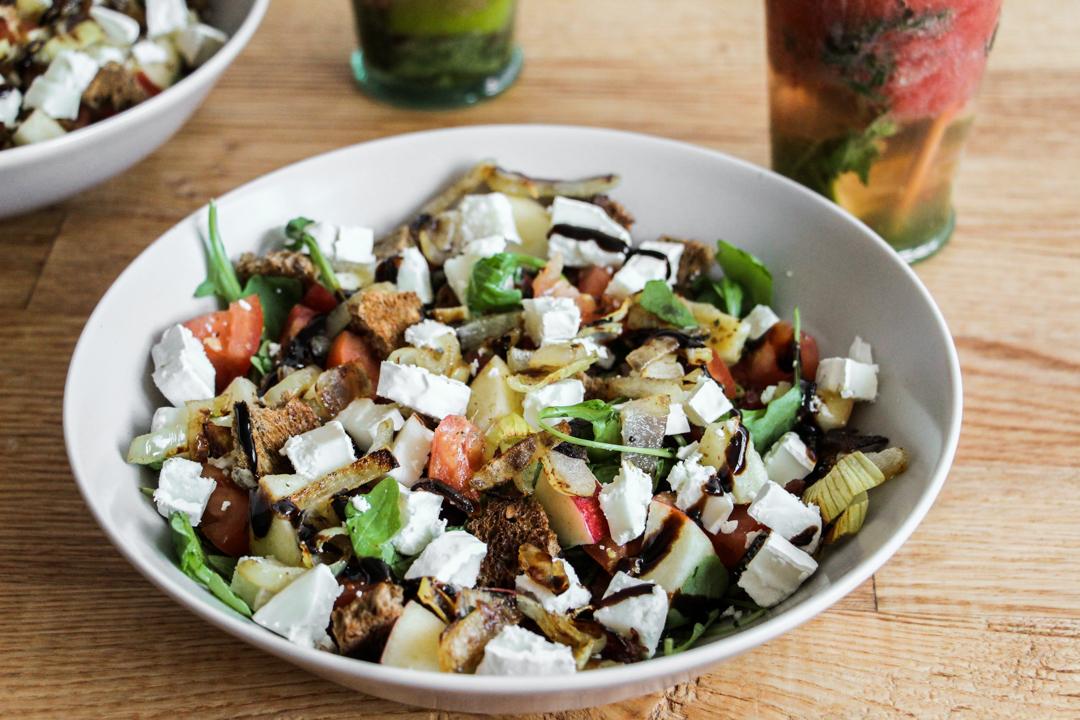 Recette salade de chèvre gourmande