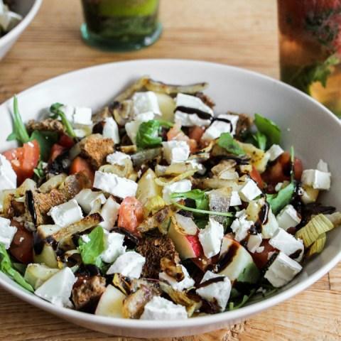Salade de chèvre gourmande