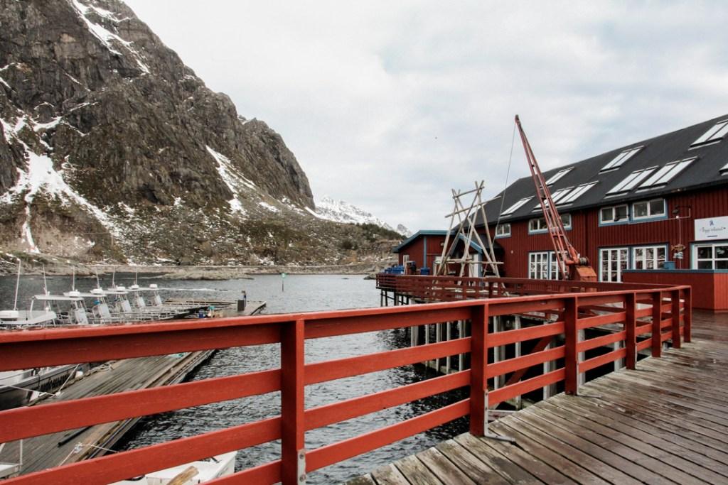 Village pecheur Norvege