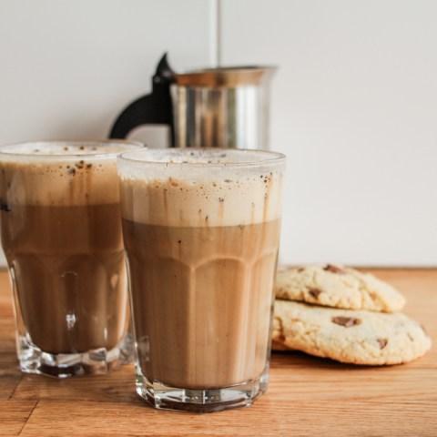 Café frappé maison