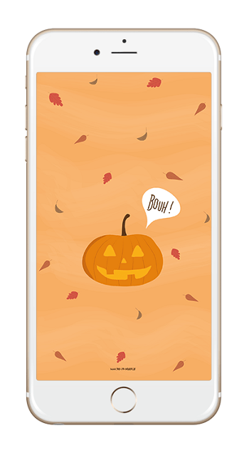 fond ecran halloween iphone