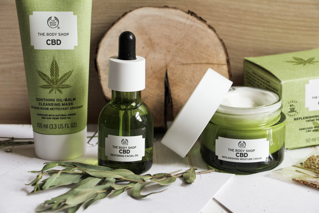 La gamme au chanvre de The Body Shop