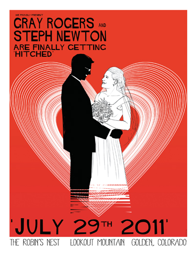 Vintage 1920 S Movie Marquee Wedding Invitation