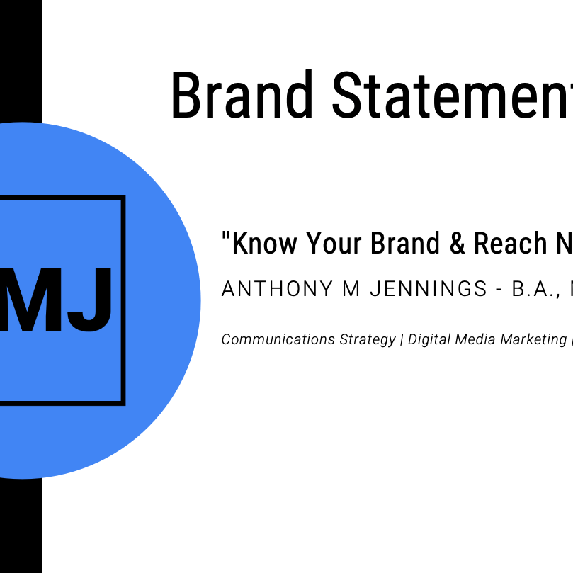 Brand Statement_Anthony Jennings