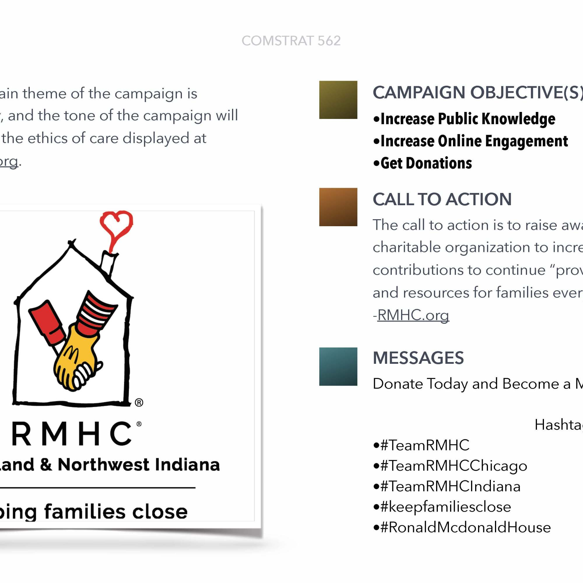Ronald McDonald House Charities Inc. Theme