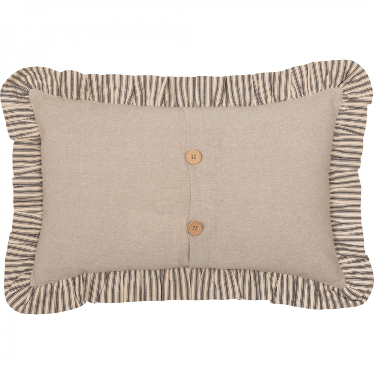 Sawyer Mill Star Charcoal Pillow by VHC Brands