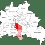 Berlin Tempelhof Schöneberg Map