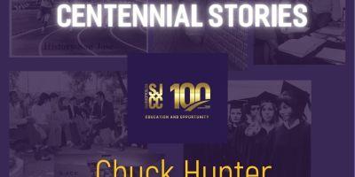 Centennial stories - Retired Faculty Chuck Hunter