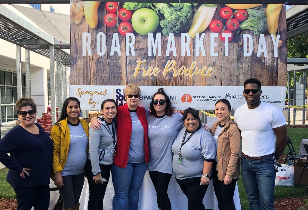Roar Market Day. SparkPoint offered 7 monthly farmers market to all district students at no cost to them. They hope to continue Roar Market Days when the San José City College campus re-opens.