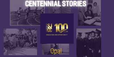 Centennial Stories on alumna Opal