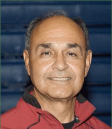 SJCC Coach Sam Huerta