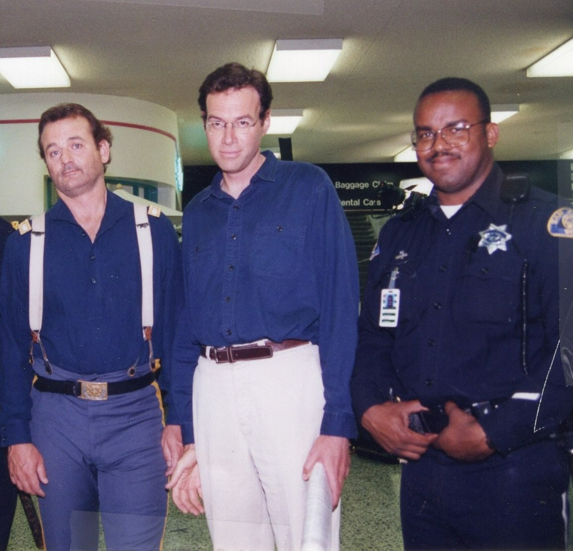 San Jose PD Hampton with Bill Murray