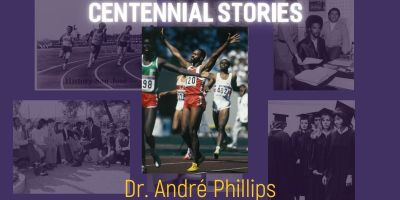 Andre Phillips at 1988 Olympic Games