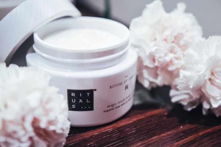 Rituals Sakura Body Cream photography by Clarissa C.