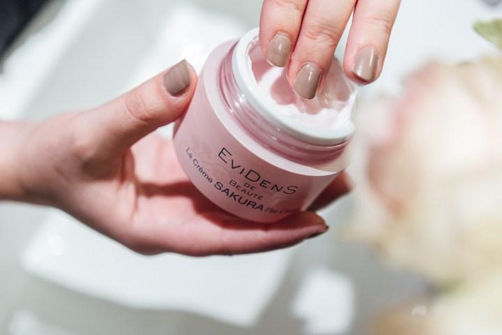 Face creme Sakura by Evidens de Beauté, Clarissa C.
