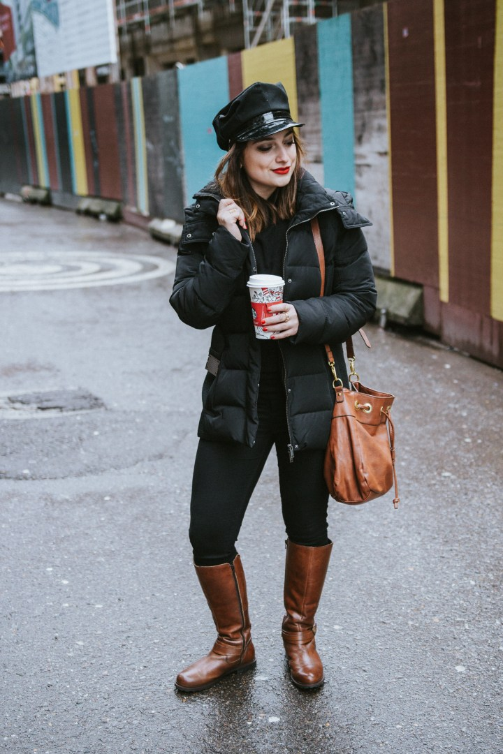 Outfit for winter, streetstyle