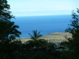 hawaii island looking west
