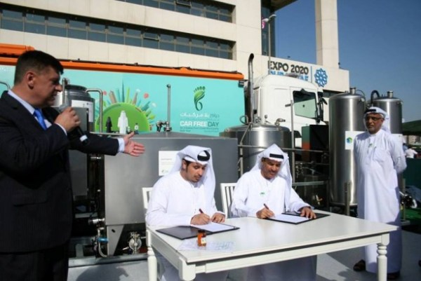 Neutral fuels LLC made a deal to replace diesel with its biofuel based on waste oil in the municipality vehicles (photo: automiddleeast.com)