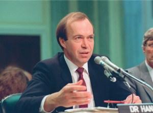 Hansen's historical testimony in US Senate