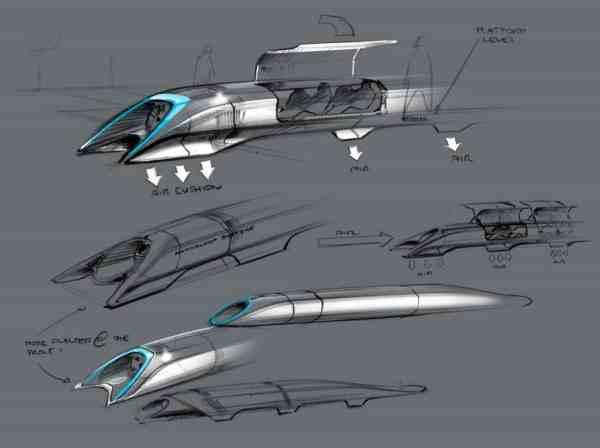 Elon Musk's original Hyperloop Alpha proposal in 2013