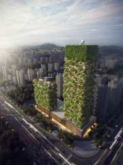 Nanjing Towers: China's first vertical forests