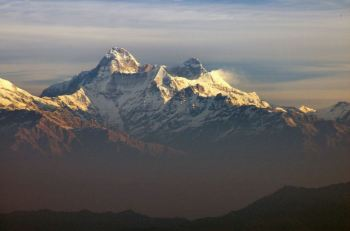 Himalayas in India.