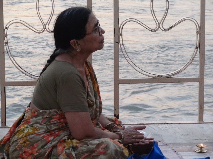 Ganga, Ganges, Rishikesh, aarti, prayers, ecology, sadhu, holy man