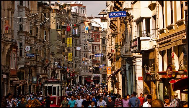 Istiklal street, Istiklal avenue, shopping area istanbul, istiklal street istanbul
