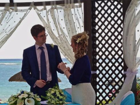 Mauritius wedding, beach wedding