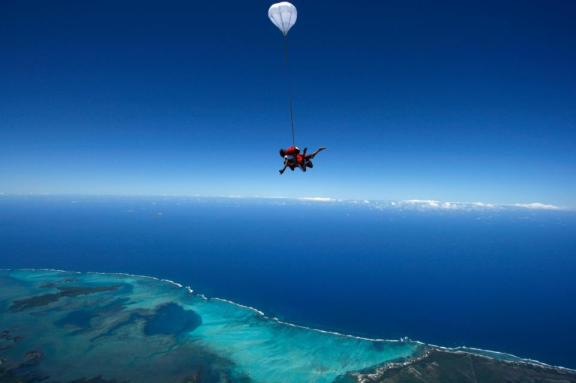 Skydiving Mauritius, Skydiving pictures, Mauritius things to do
