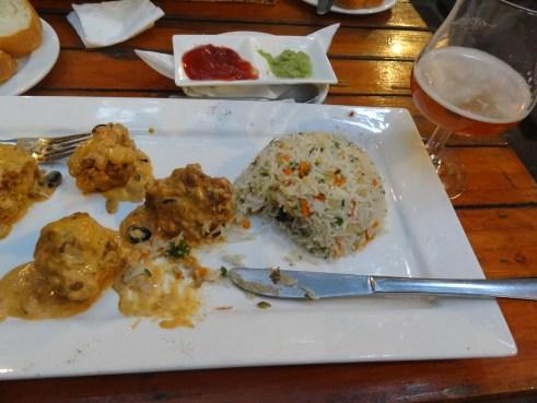 Mauritius vegetarian, Mauritius best restaurants, Mauritius beer garden