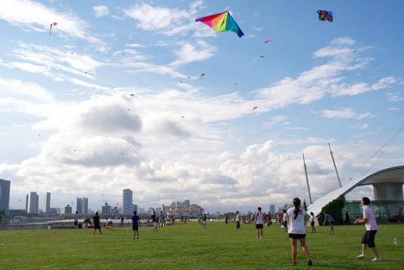 Marina Barrage Singapore, free activities with kids singapore