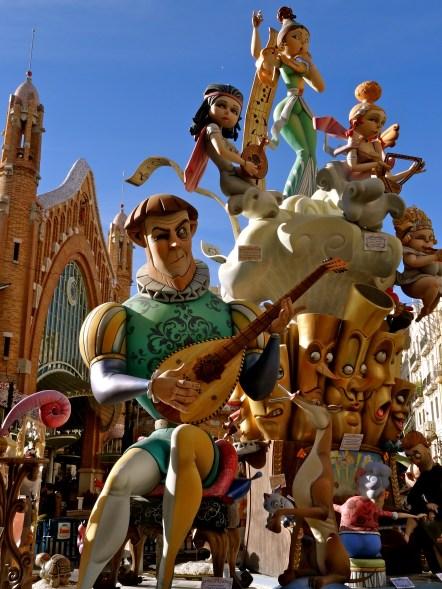 Falles Valencia, Las Fallas Spain,
