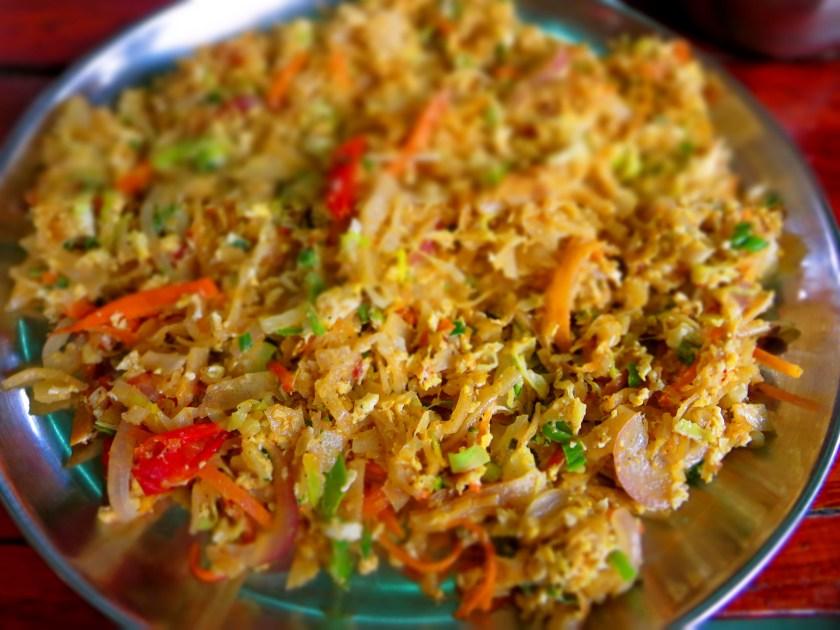 kothu, vegan food ella