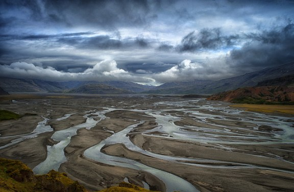iceland landscapes, iceland, countries rupee strong