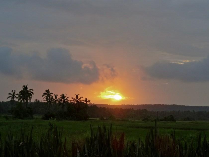 monsoon sunset, india monsoon