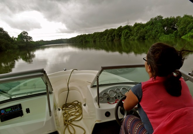 Goa monsoon, Goa backwaters, Goa best time to visit, Goa speed boat, Goa Aldona