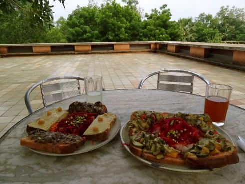 La Terraza auroville, Auroville food, Auroville blog, Auroville cafes