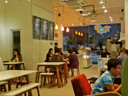 Singapore cafes, singapore blogs