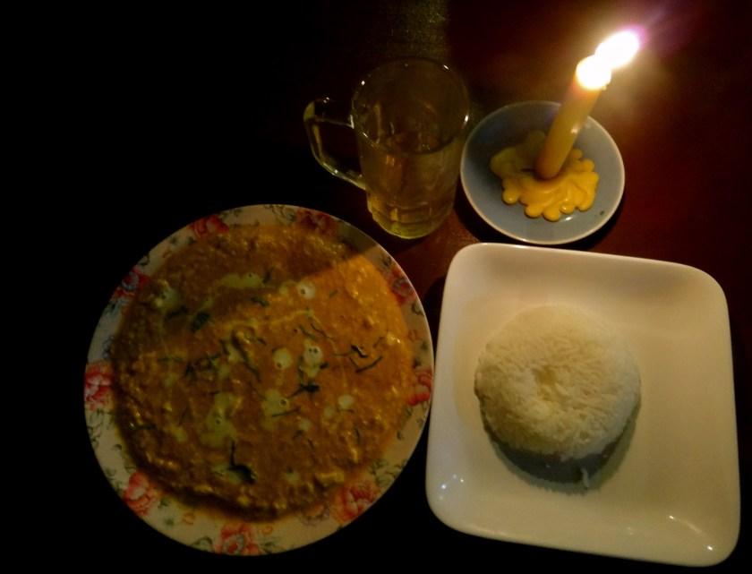 vegetarian thai food, chiang rai, ban lom jen homestay