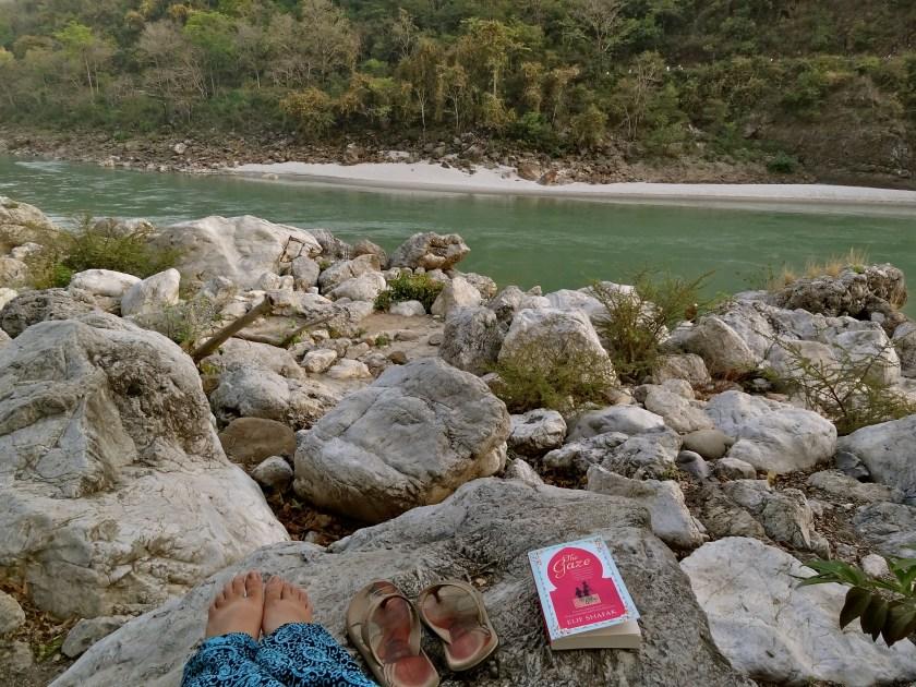 Rishikesh photos, ganga photos, rishikesh beach, rainforest house rishikesh