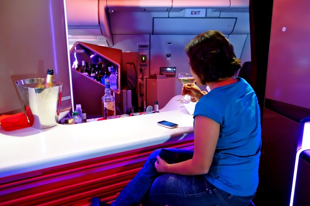 Virgin atlantic reviews, Virgin atlantic upper class
