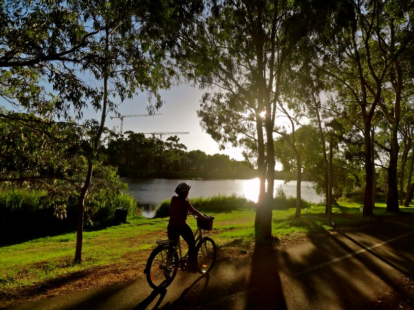 Adelaide cycling, digital nomad life, indian digital nomad