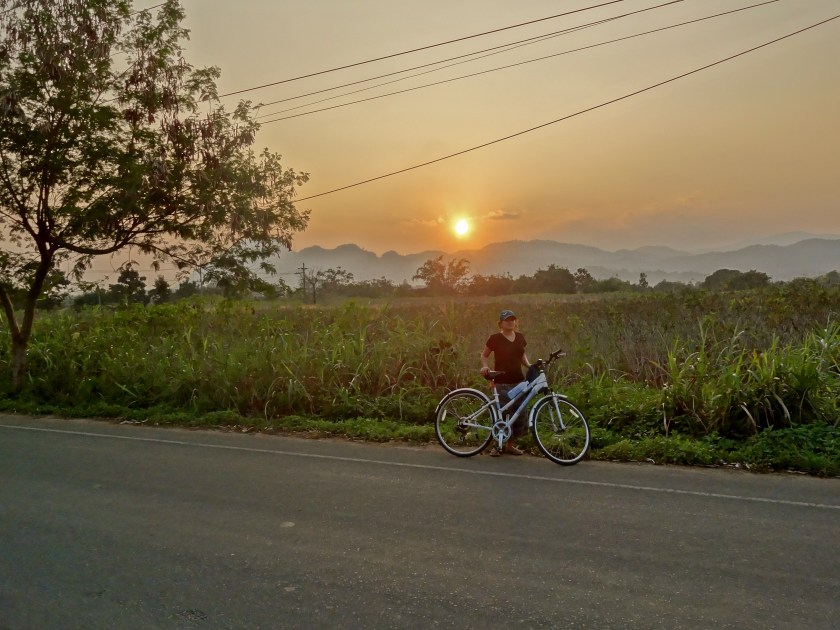 Thailand cycling, northern thailand