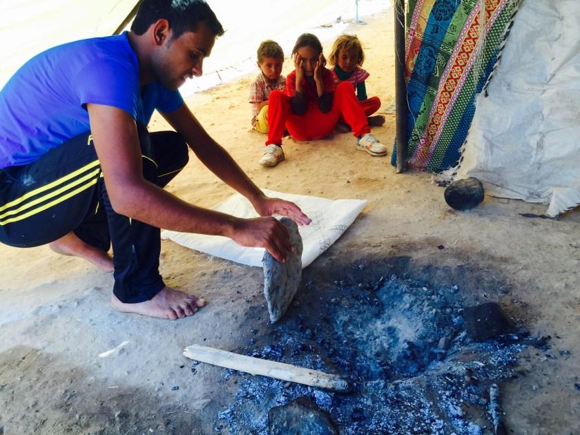 Bedouin bread, Bedouin culture, Jordan culture