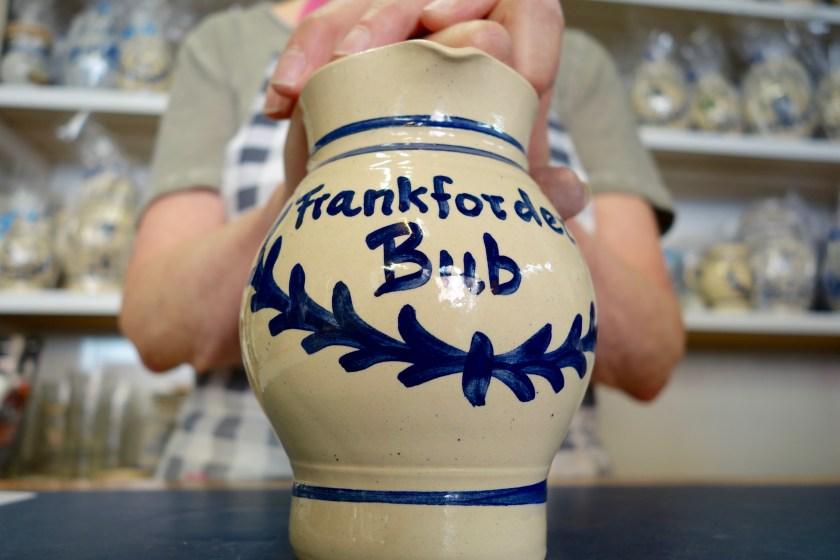 Frankfurt bembel, frankfurt potters, hessen germany, german culture